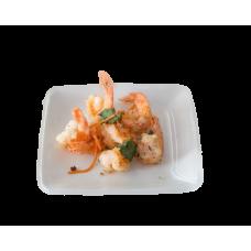 Crevettes ou Calamars ou Filet de Poisson salé et poivré(au choix)