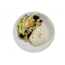 """Légumes """"Chop-Suey"""" sautés (légume variés sautés) (végétatien)"""