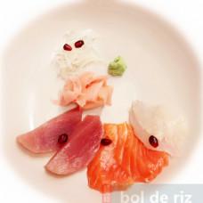 Sashimi 6 pièces