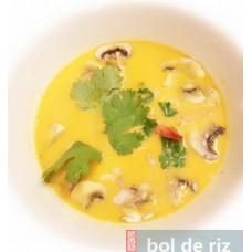 Tom-Kha Gai(soupe) épicé