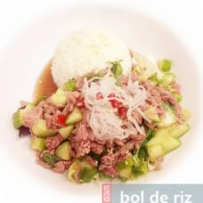 Bœuf Tartare en Thaïlande épicé
